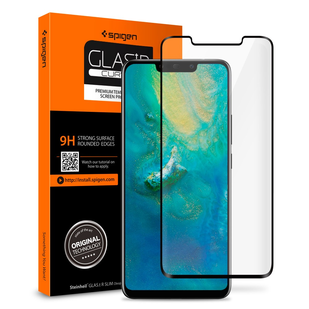 Huawei Mate 20 Pro Tempered Glass Glas Tr Curved Spigen Philippines