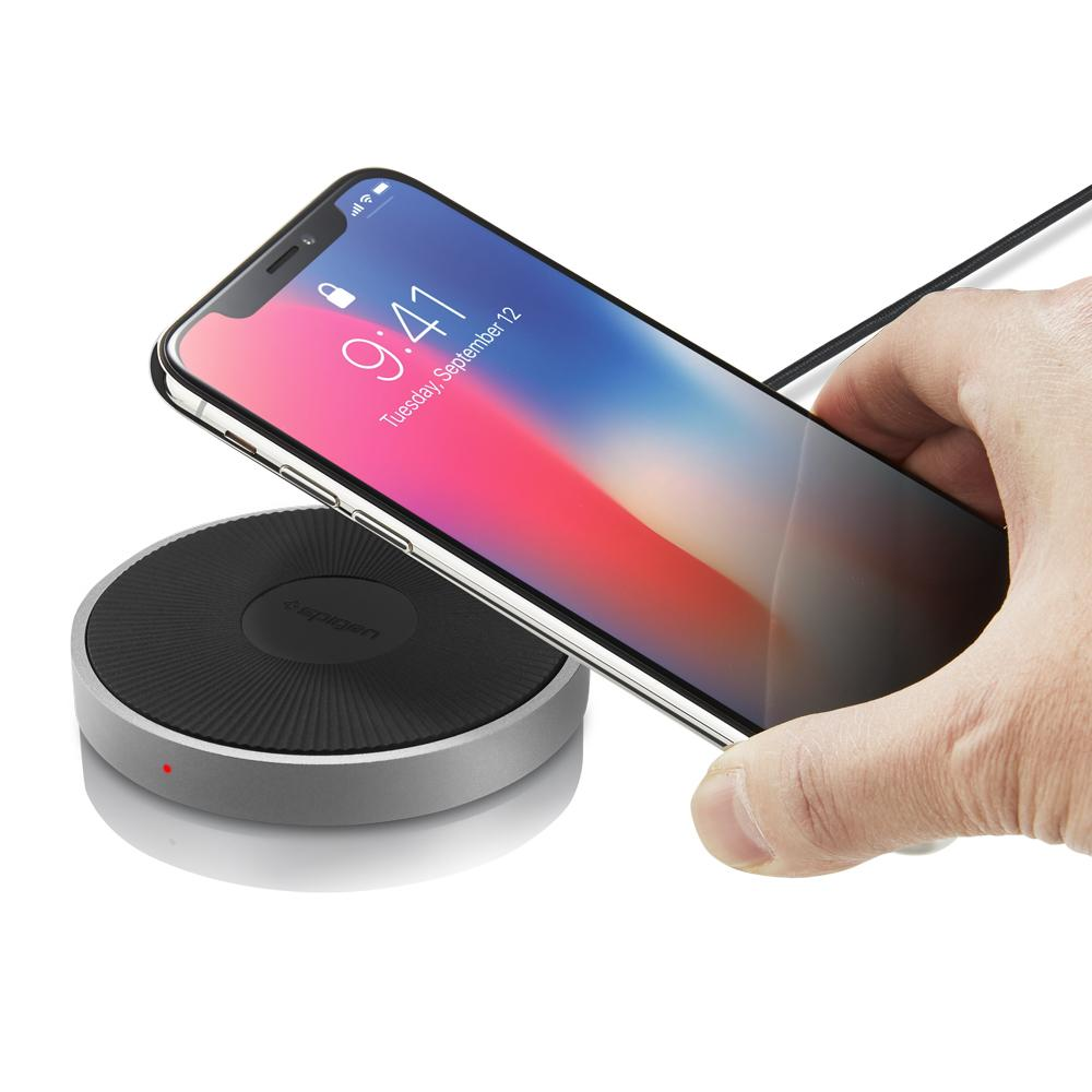 release date 88994 33ffb Essential® F306W iPhone Wireless Charger | Spigen Philippines