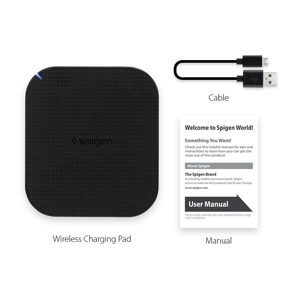 Essential 174 F302w Wireless Charger 5w Spigen Philippines