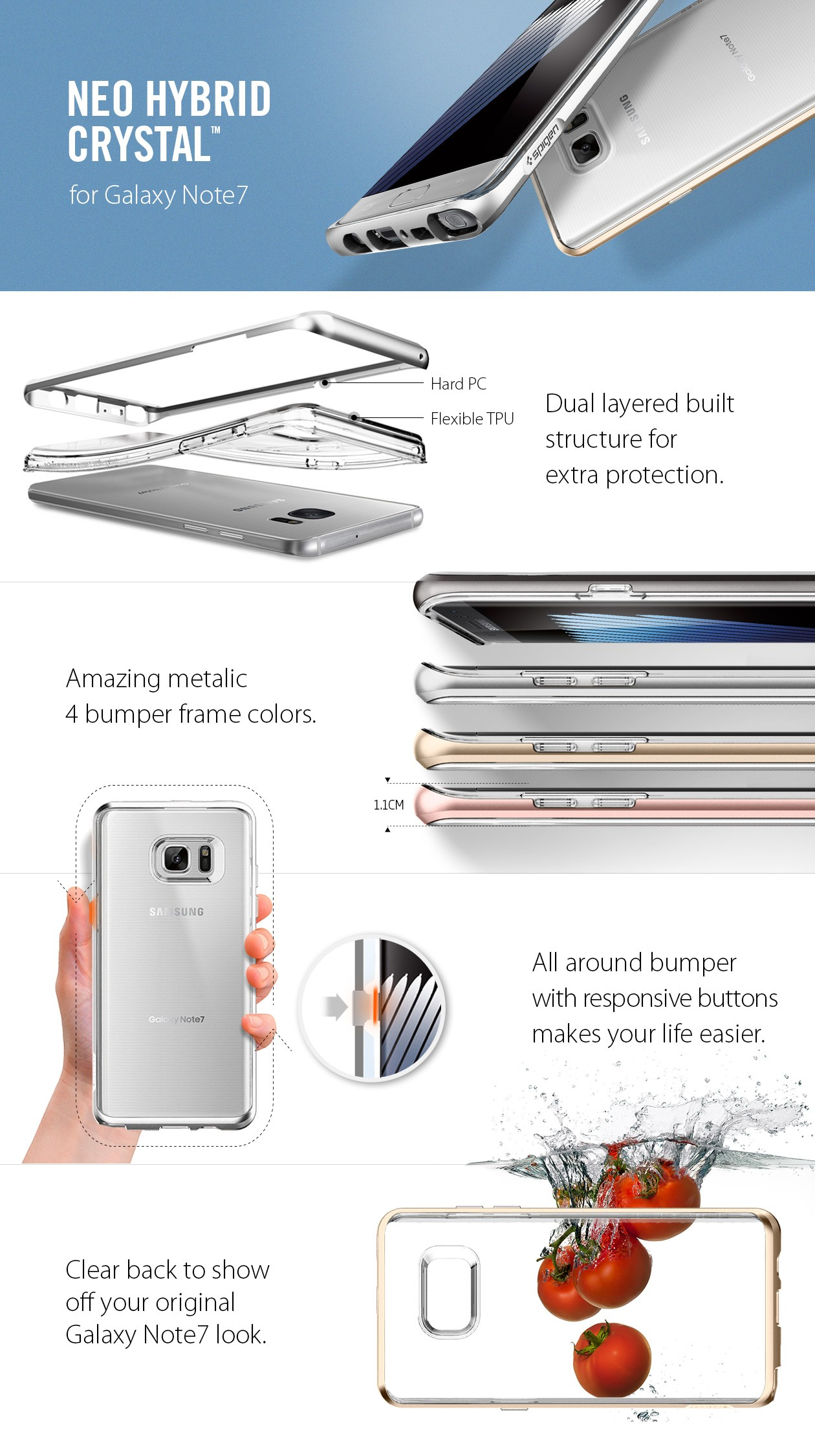 Tough Armor Case For Samsung Galaxy Note Fe Icons Spigen 9 Ultra Hybrid Clear Original Casing Compatible With 2017