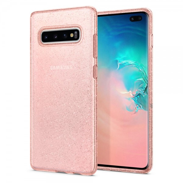 Galaxy S10 Plus Case Liquid Crystal Glitter Spigen