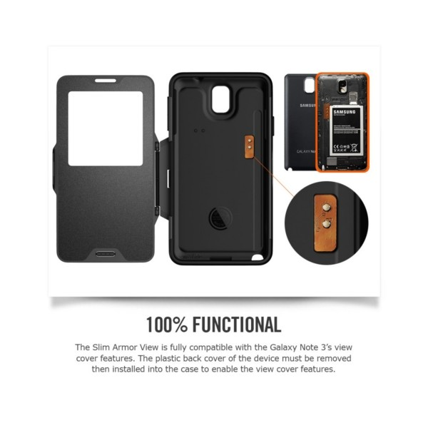 separation shoes b9f5a daf57 Galaxy Note 3 Case Slim Armor View | Spigen Philippines